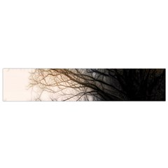 Tree Art Artistic Abstract Background Flano Scarf (Small)