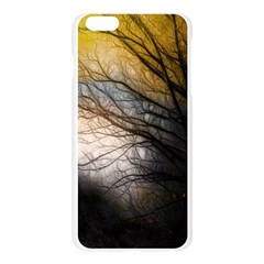 Tree Art Artistic Abstract Background Apple Seamless iPhone 6 Plus/6S Plus Case (Transparent)