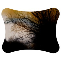 Tree Art Artistic Abstract Background Jigsaw Puzzle Photo Stand (Bow)