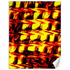 Yellow Seamless Abstract Brick Background Canvas 18  x 24