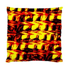 Yellow Seamless Abstract Brick Background Standard Cushion Case (Two Sides)