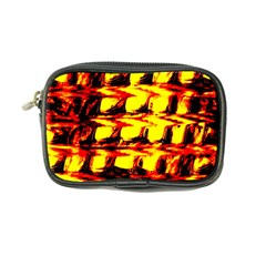 Yellow Seamless Abstract Brick Background Coin Purse