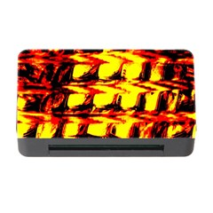 Yellow Seamless Abstract Brick Background Memory Card Reader with CF