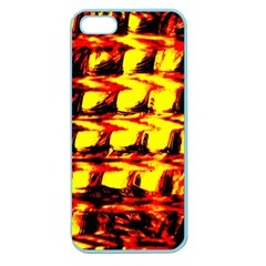 Yellow Seamless Abstract Brick Background Apple Seamless iPhone 5 Case (Color)