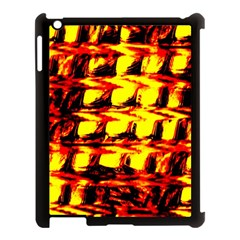 Yellow Seamless Abstract Brick Background Apple Ipad 3/4 Case (black)