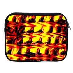 Yellow Seamless Abstract Brick Background Apple Ipad 2/3/4 Zipper Cases