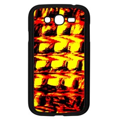 Yellow Seamless Abstract Brick Background Samsung Galaxy Grand Duos I9082 Case (black)