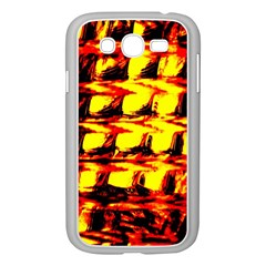 Yellow Seamless Abstract Brick Background Samsung Galaxy Grand DUOS I9082 Case (White)