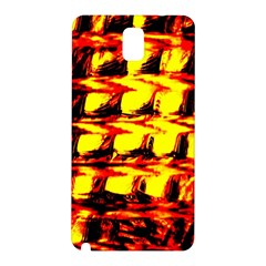 Yellow Seamless Abstract Brick Background Samsung Galaxy Note 3 N9005 Hardshell Back Case