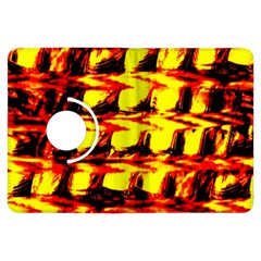 Yellow Seamless Abstract Brick Background Kindle Fire HDX Flip 360 Case