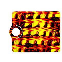 Yellow Seamless Abstract Brick Background Kindle Fire HDX 8.9  Flip 360 Case
