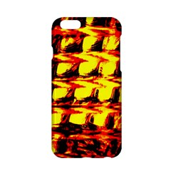 Yellow Seamless Abstract Brick Background Apple Iphone 6/6s Hardshell Case