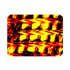 Yellow Seamless Abstract Brick Background Double Sided Flano Blanket (mini)