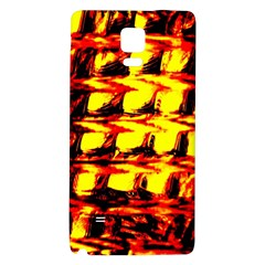 Yellow Seamless Abstract Brick Background Galaxy Note 4 Back Case