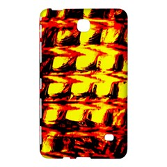 Yellow Seamless Abstract Brick Background Samsung Galaxy Tab 4 (8 ) Hardshell Case