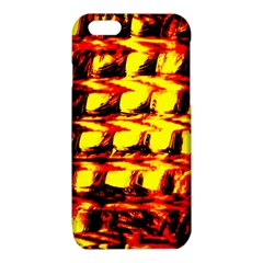 Yellow Seamless Abstract Brick Background iPhone 6/6S TPU Case