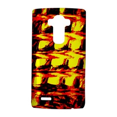 Yellow Seamless Abstract Brick Background LG G4 Hardshell Case