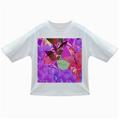 Abstract Design With Hummingbirds Infant/Toddler T-Shirts
