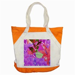 Abstract Design With Hummingbirds Accent Tote Bag