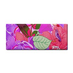 Abstract Design With Hummingbirds Cosmetic Storage Cases