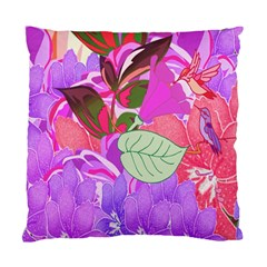 Abstract Design With Hummingbirds Standard Cushion Case (One Side)