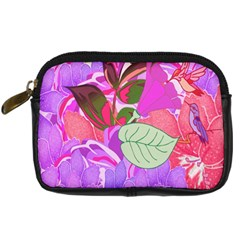 Abstract Design With Hummingbirds Digital Camera Cases
