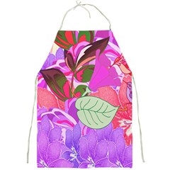 Abstract Design With Hummingbirds Full Print Aprons