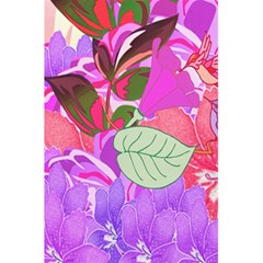 Abstract Design With Hummingbirds 5.5  x 8.5  Notebooks