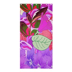 Abstract Design With Hummingbirds Shower Curtain 36  X 72  (stall)