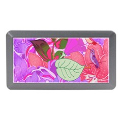Abstract Design With Hummingbirds Memory Card Reader (Mini)