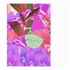 Abstract Design With Hummingbirds Small Garden Flag (Two Sides)