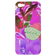 Abstract Design With Hummingbirds Apple Iphone 5 Hardshell Case