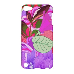 Abstract Design With Hummingbirds Apple iPod Touch 5 Hardshell Case