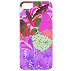 Abstract Design With Hummingbirds Apple iPhone 5 Classic Hardshell Case