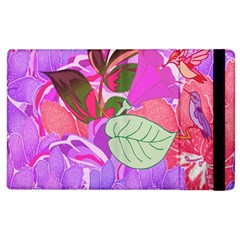 Abstract Design With Hummingbirds Apple iPad 2 Flip Case