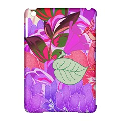 Abstract Design With Hummingbirds Apple Ipad Mini Hardshell Case (compatible With Smart Cover)