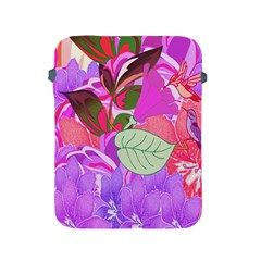 Abstract Design With Hummingbirds Apple iPad 2/3/4 Protective Soft Cases