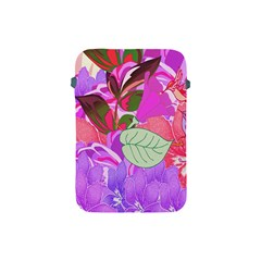 Abstract Design With Hummingbirds Apple iPad Mini Protective Soft Cases