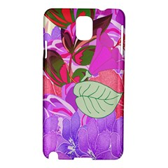 Abstract Design With Hummingbirds Samsung Galaxy Note 3 N9005 Hardshell Case