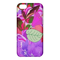 Abstract Design With Hummingbirds Apple iPhone 5C Hardshell Case
