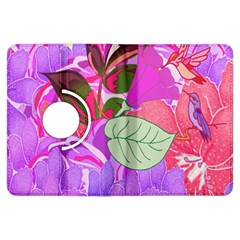 Abstract Design With Hummingbirds Kindle Fire Hdx Flip 360 Case