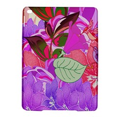 Abstract Design With Hummingbirds iPad Air 2 Hardshell Cases