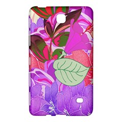 Abstract Design With Hummingbirds Samsung Galaxy Tab 4 (8 ) Hardshell Case