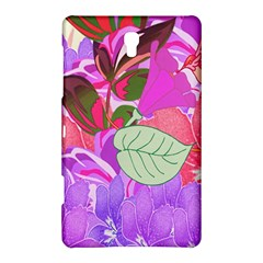 Abstract Design With Hummingbirds Samsung Galaxy Tab S (8.4 ) Hardshell Case