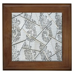 The Abstract Design On The Xuzhou Art Museum Framed Tiles