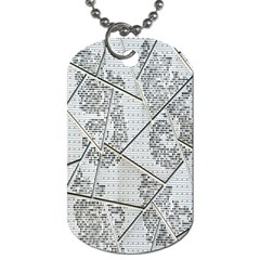 The Abstract Design On The Xuzhou Art Museum Dog Tag (One Side)