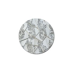 The Abstract Design On The Xuzhou Art Museum Golf Ball Marker