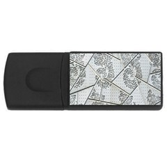 The Abstract Design On The Xuzhou Art Museum USB Flash Drive Rectangular (1 GB)
