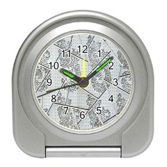 The Abstract Design On The Xuzhou Art Museum Travel Alarm Clocks