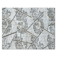 The Abstract Design On The Xuzhou Art Museum Rectangular Jigsaw Puzzl